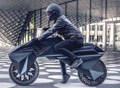 Image d'une moto fabriquée en impression 3D