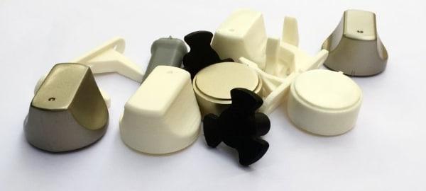 Image des pièces détachées réparées à l'aide de l'impression 3D