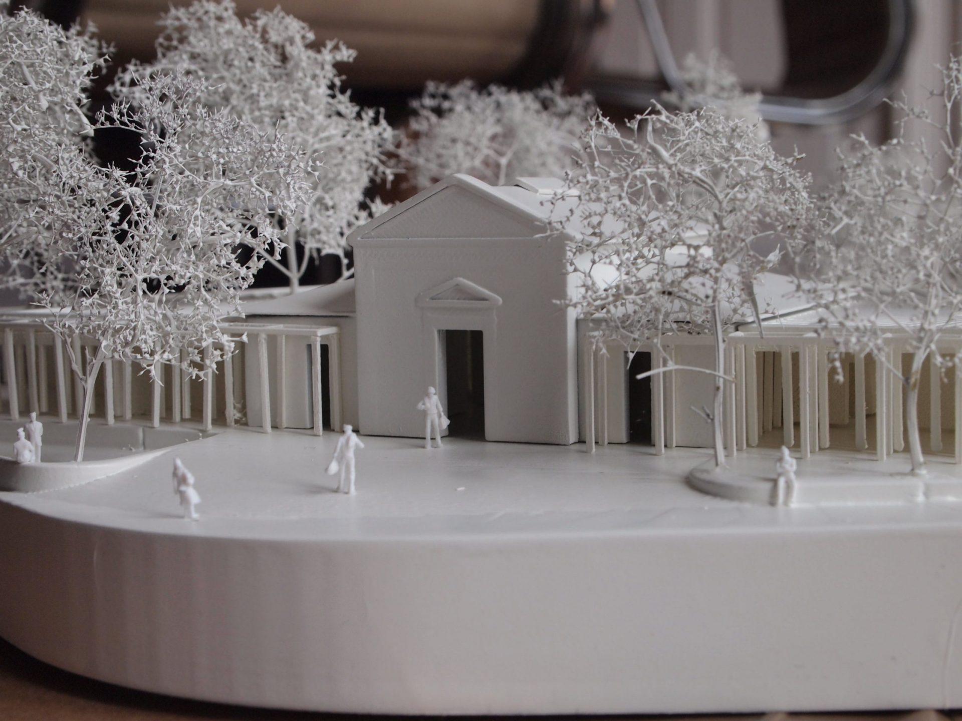 Image d'une maquette de concours réalisée en impression 3D